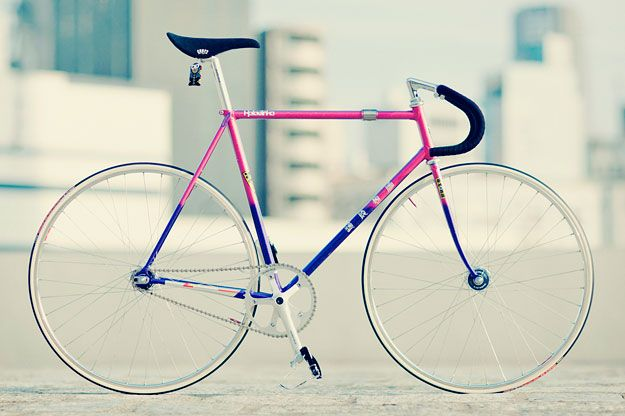This is the most beautiful paint job on a bike I have ever seen.