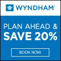 New Offers and Deals: $10 Off at Wyndham Hotels   BOOK NOW  $10 off per night. Just stay 2 or more!  Book your stay at a participating Wyndham hotels and save $10 per night on our Best Available Rate when you stay 2 or more.  Terms & Conditions:  The Stay 2 and Save $10 off a participating hotels Best Available Rate per night per stay rate (Stay 2 & Save Rate) is available at (i) participating Hawthorn Suites by Wyndham Ramada Wingate by Wyndham and Wyndham Garden (Participating Brand)…