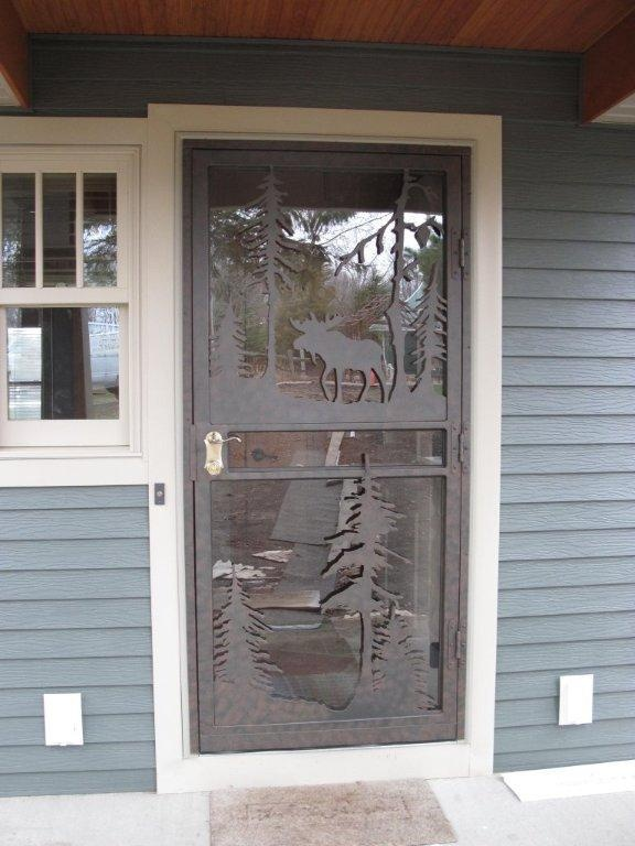 1000 images about storm door ideas on pinterest front for Custom storm doors