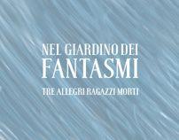 Nel giardino dei fantasmi - TARM | CD Design | See the entire project on behance!