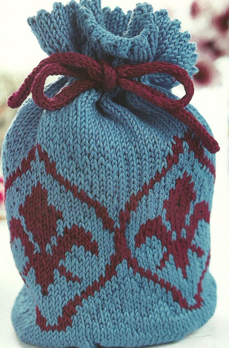 86 best Knitted Bags images on Pinterest | Crochet bags, Knit ...