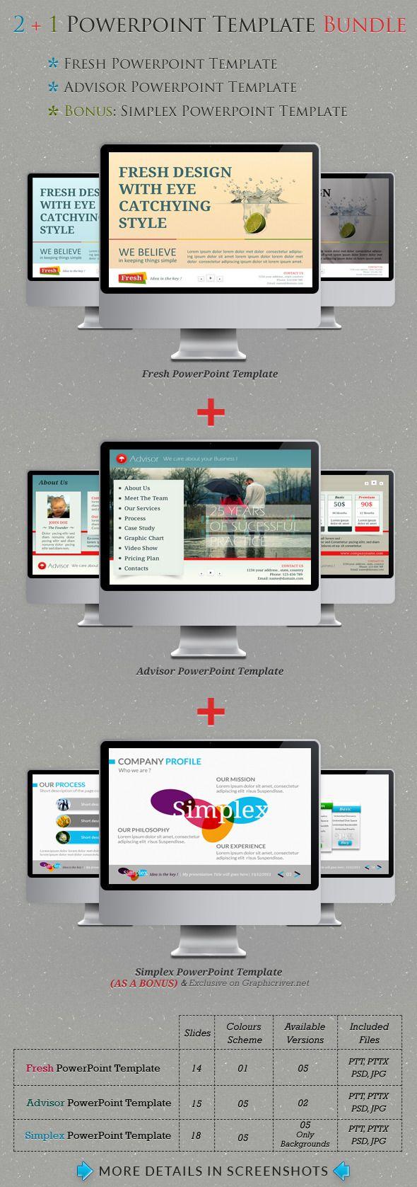 621 best Powerpoint Templates images on Pinterest | Font logo, Power ...