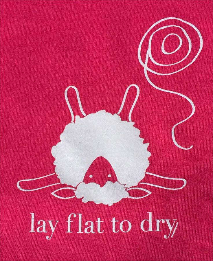 "These screen printed shirts offer a women's cut with a slight taper at the waist, a flattering relaxed neckline, and proportional shorter sleeves. The popular ""Lay flat to dry"" sheep is printed in white on a heathered red or pewter grey shirt."