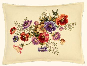 Eva Rosenstand French Anemone Cushion