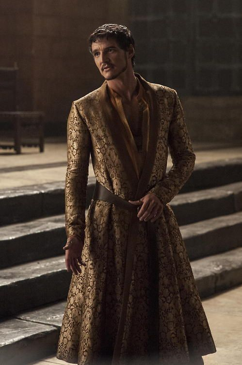 Pablo Pascal as Prince Oberyn Martell in Game of Thrones, Season 4.