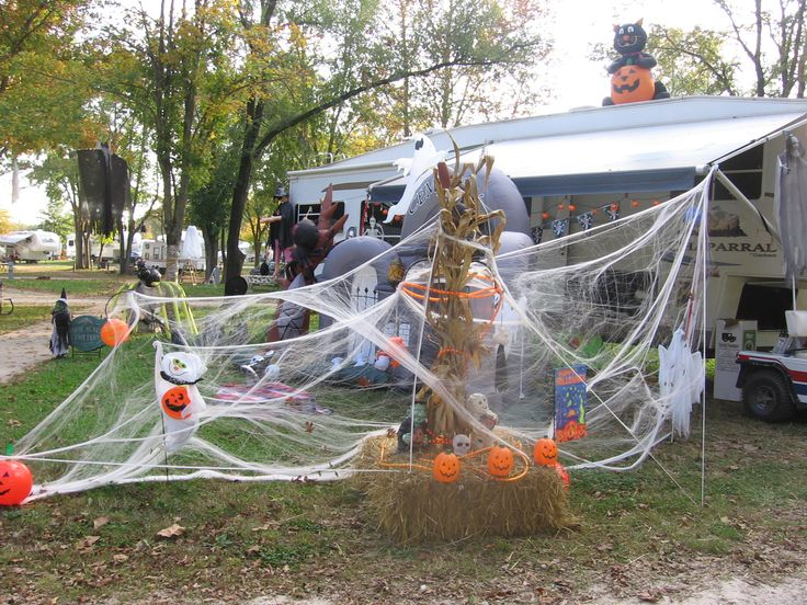 Decorating Ideas > Halloween Camp  Build A Haunt  Pinterest  Halloween And  ~ 161501_Halloween Decorating Ideas Campground