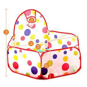 Pliable-Ocean-Balles-Fosse-Piscine-Jouet-Jeux-Tente-Exterieure-Interieure-Enfant