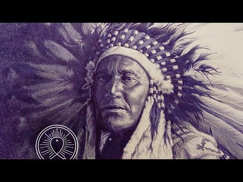 Native American Indian Meditation Music: Shamanic Flute Music, Healing Music, Calming Music - YouTube