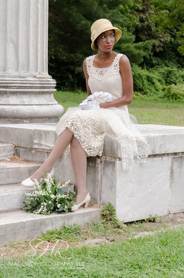#Vintagewedding #1920s #Eva Muthusi, model.
