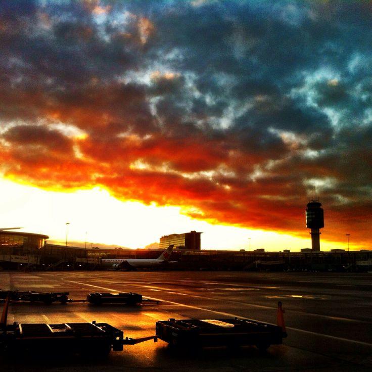Yvr sunrise