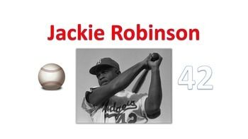 This packet contains a mini-book about Jackie Robinson with real photographs. It also contains a timeline activity about Jackie Robinson's life. There are also two writing activities for students to complete after reading the Jackie Robinson book. The Jackie Robinson packet would be appropriate for first, second, third or fourth grade.