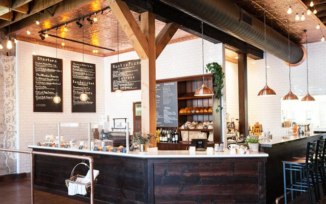 Farmhouse-chic restaurant & cake bakery offering market-to-table cooking, plus beer, wine & coffee.
