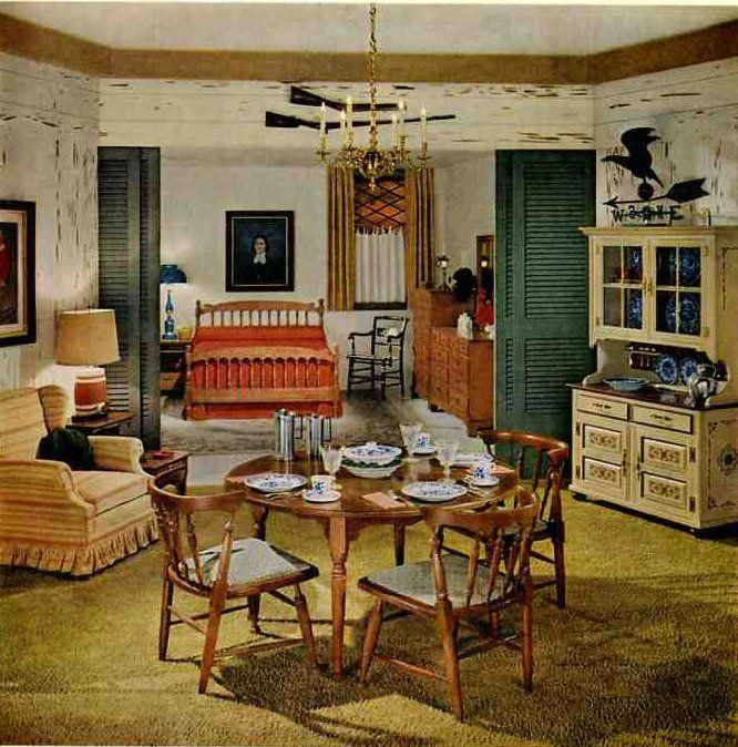 1959 Vintage Drexel Colonial Lives Even Heading Into The