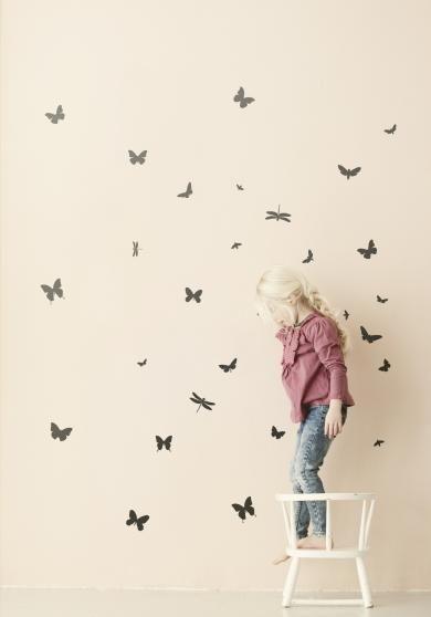 ferm LIVING - Mini butterflies - sort