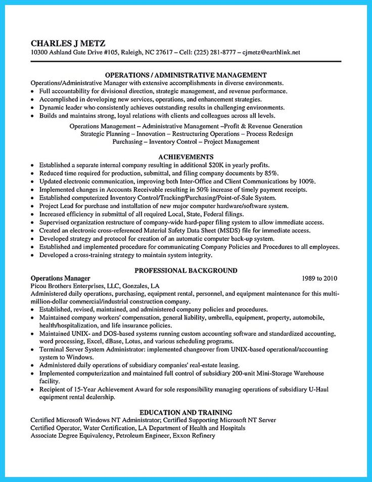 594 best Resume Samples images on Pinterest Resume templates - network administrator resume