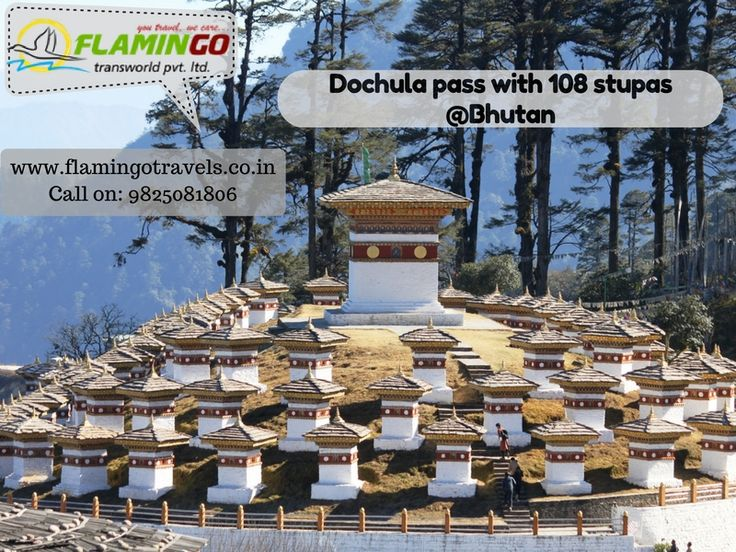 Visit Dochula pass with #Bhutantourpackages : http://goo.gl/hUUVtD
