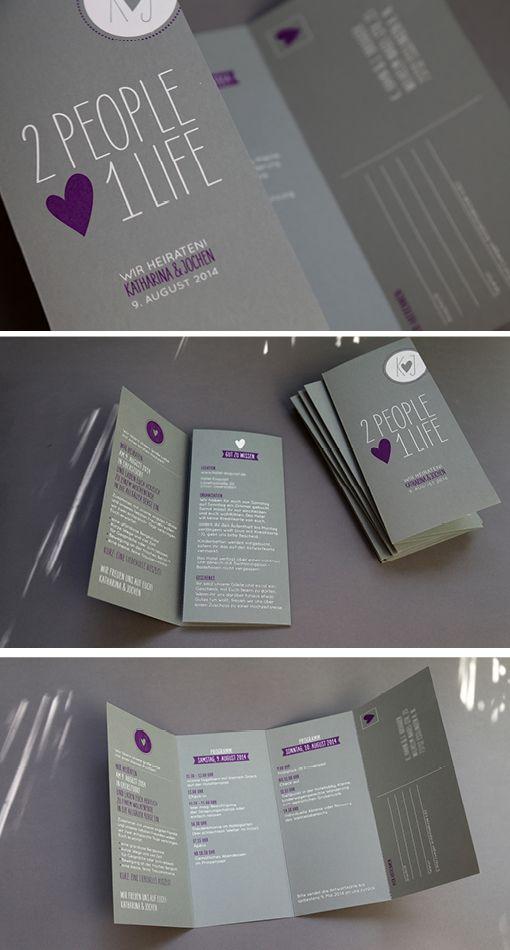 Hochzeitseinladung: Siebdruck auf farbiges Papier « Ein Stück vom Glück