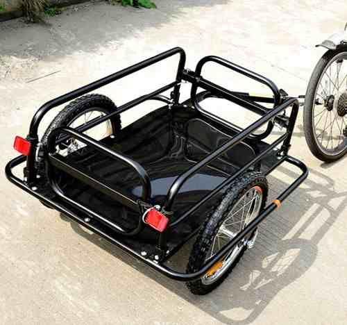 remolque para bicicleta cargo trailer utility