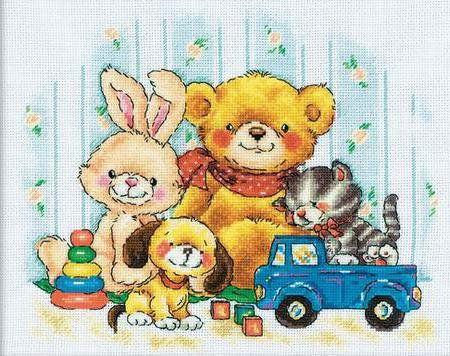 детская картина - Схемы вышивки - natashablyablina3110 - Авторы - Портал «Вышивка крестом»