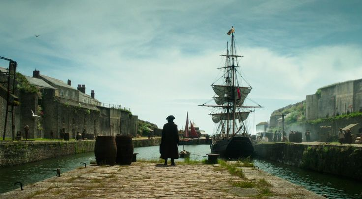 Seafaring stuff at Charlestown © Mammoth Screen