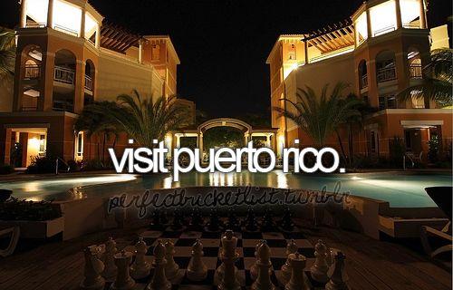 puerto rico: Honeymoon, Bucketlist, Time, Vacation, Visit Puerto, Puerto Rico, Place, Bucket Lists