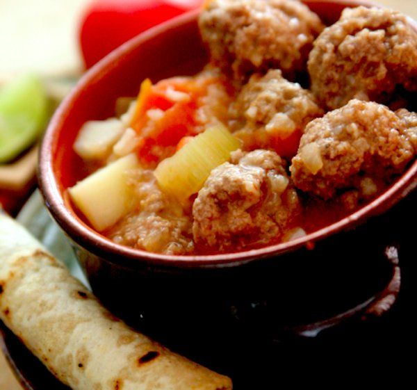 Try this hearty and comforting Mexican meatball soup when it gets too cold for tacos.