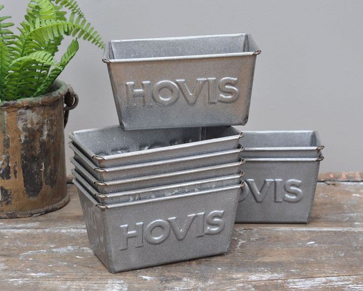 Vintage Hovis Bread Tins - Bring It On Home