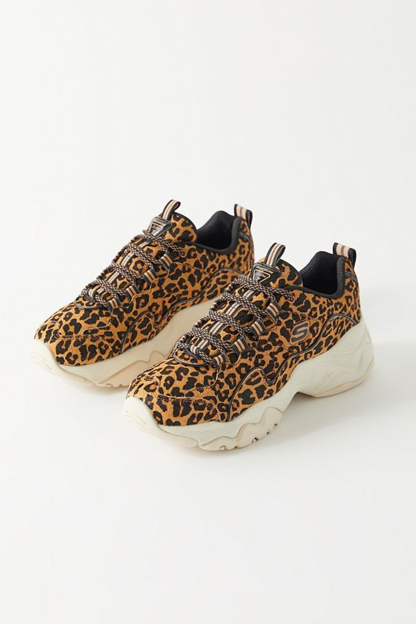Skechers UO Exclusive D-Lite 3 Leopard