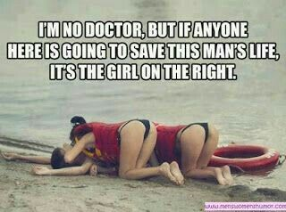 Not sure he lived......but ya Gotta Love These Girls Dedication.