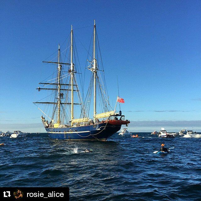 One of our favourite parts of the #rottoswim is the Leeuwin at the 1500m mark! Inspiration to keep training for the 2016 Karma Resorts Rottnest Channel Swim and new event Champions of the Channel! #favday #swimtorotto #swimsquadgoals #experiencekarmarottnest Thanks to @rosie_alice for the pic! #perthisok #perthgreatness #rottnestchannelswim #championsofthechannel #rottnestisland #openwaterswimming #swimmingwa #perthsummer #cottesloebeach by rottoswim http://ift.tt/1L5GqLp