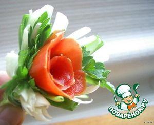 """""""Розы"""" для сервировки или закуски"""