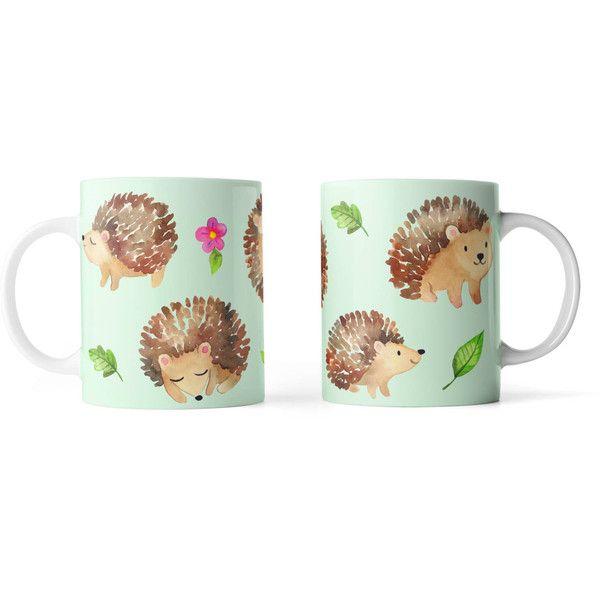 Cute Hedgehogs Everywhere Mug Funny Mug Rude Mug Mug Cup 4p106 (17 CAD) ❤ liked on Polyvore featuring home, kitchen & dining, drinkware, drink & barware, home & living, mugs, silver and hedgehog mug