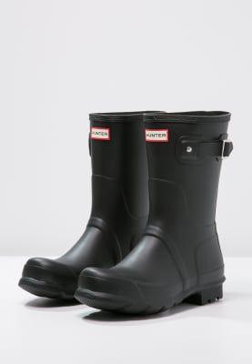 Str 38/39:))  Bestill Hunter Gummistøvler - black for kr 1095,00 (20.11.16) med gratis frakt på Zalando.no