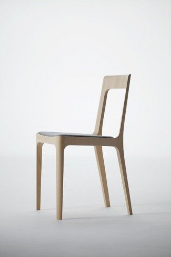 Naoto Fukasawa Hiroshima Armless Chair - chairs dont get much more perfect than this