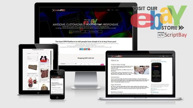 New Awesome ScriptBay PRO - Full responsive template with Advanced EPN Search