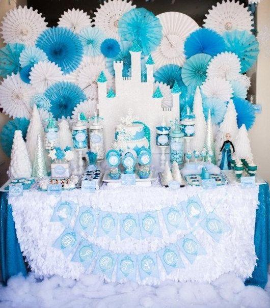 45 best PFrozen Castle images on Pinterest Frozen party