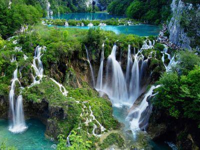 Lacs plitvice, Croatie