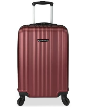 "Travel Select Durango 20.5"" Hardside Carry-On Spinner Suitcase - Red"