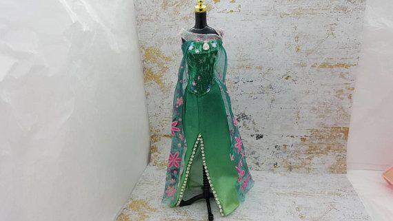 Barbie Gown Rhinestones and cape fashions Outfit 11 inch doll  #11InchDoll #BarbieClothes #BarbieDoll #DressGown #VintageBarbie #mattel #BarbieFashions #DollClothes #PartyWedding #minimalscratch #dollhouse#miniatures#dolls#vintagetoys#retro#midcentury#marx#renwal#minimalscratch#etsyseller