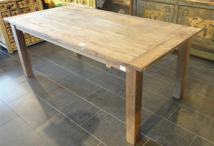 Kinesiske borde og deske : Indonesiske Dining table in teak wooden