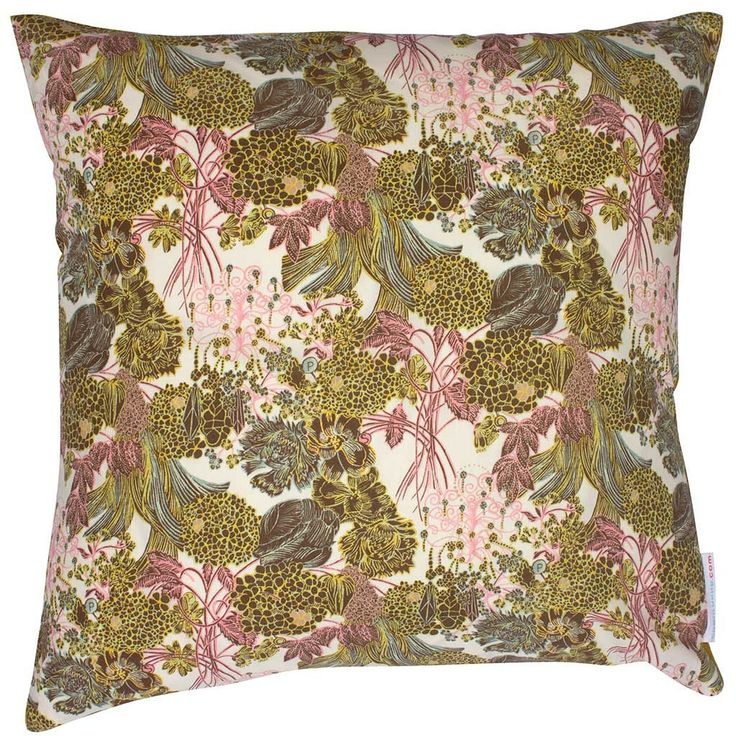 Liberty Cushion My Little Posy Yellow