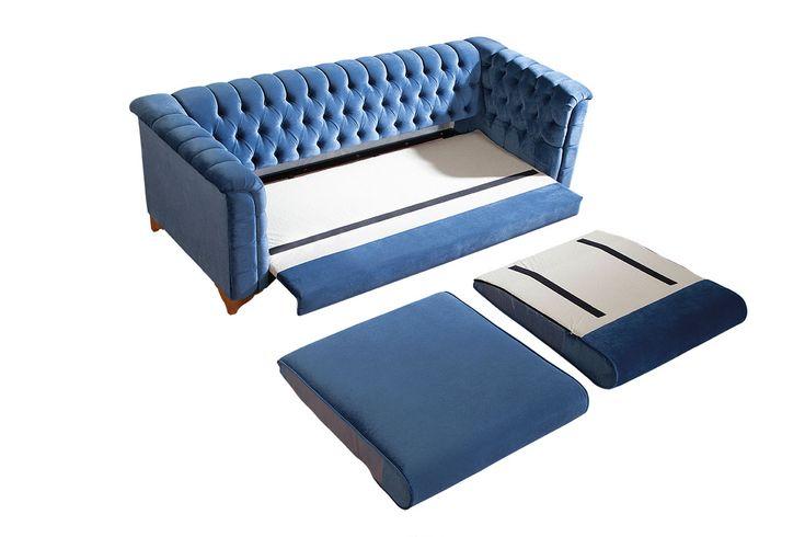 Yataklı Chester Koltuk | MobDizayn - Mobilya Ve Ev Dekorasyonu