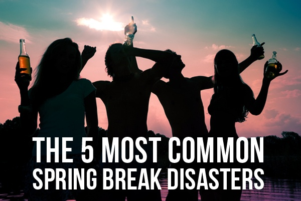 MUST KNOW: The 5 Most Common Spring Break Disasters (& How to Avoid Them)