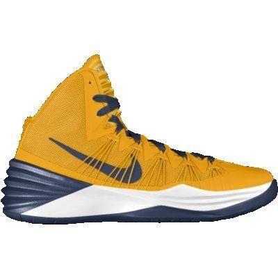 Nike Hyperdunk 2013 iD Custom Men\u0027s Basketball Shoes - Yellow
