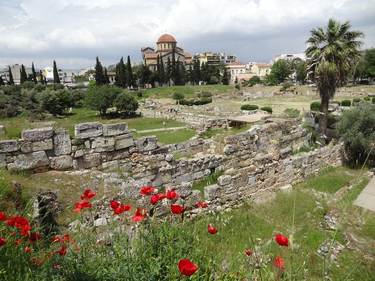 The ancient cemetery of Kerameikos in Athens