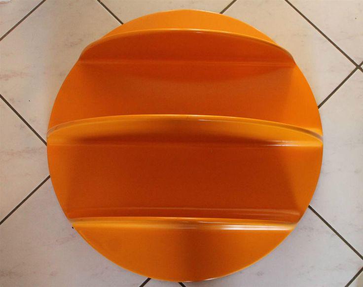 70er Jahre Regal rund Wand ObjekPop Art 70s round shelf Panton Pop Stil Design