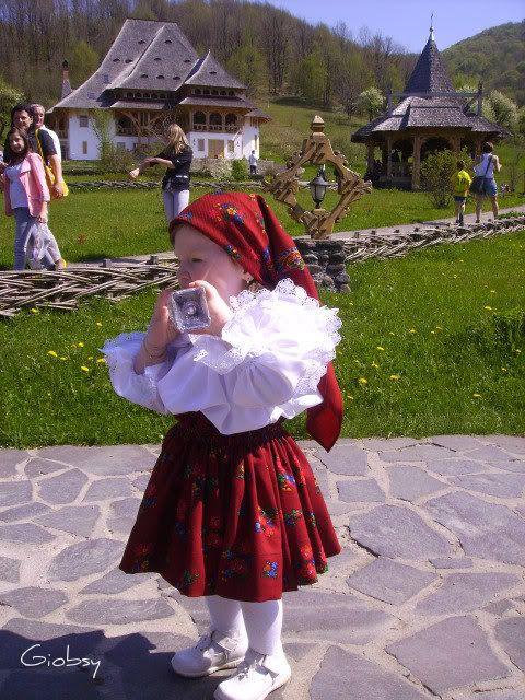 Little girl from Maramures.