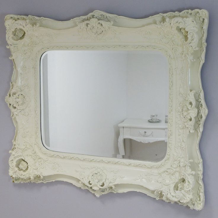 This beautiful ornate cream mirror will instantly catch your attention. With it wonderful decorative frame the mirror is perfect for any customers looking to create a focal point within their home. The cream finish of the mirror will blend seamlessly into either a contemporary or more traditional setting.     Customers have the