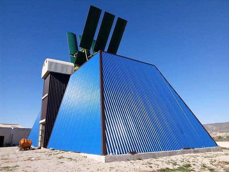 Sistema eólico Morcillo: un generador de eje horizontal 'Made in Murcia' capaz de abastecer a 100 viviendas