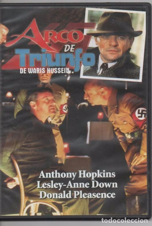 ARCO DE TRIUNFO, DIRECTOR: WARIS HUSSEIN. ANTHONY HOPKINS LESLEY-ANNE DOWN (PARÍS 2ª GUERRA MUNDIAL)
